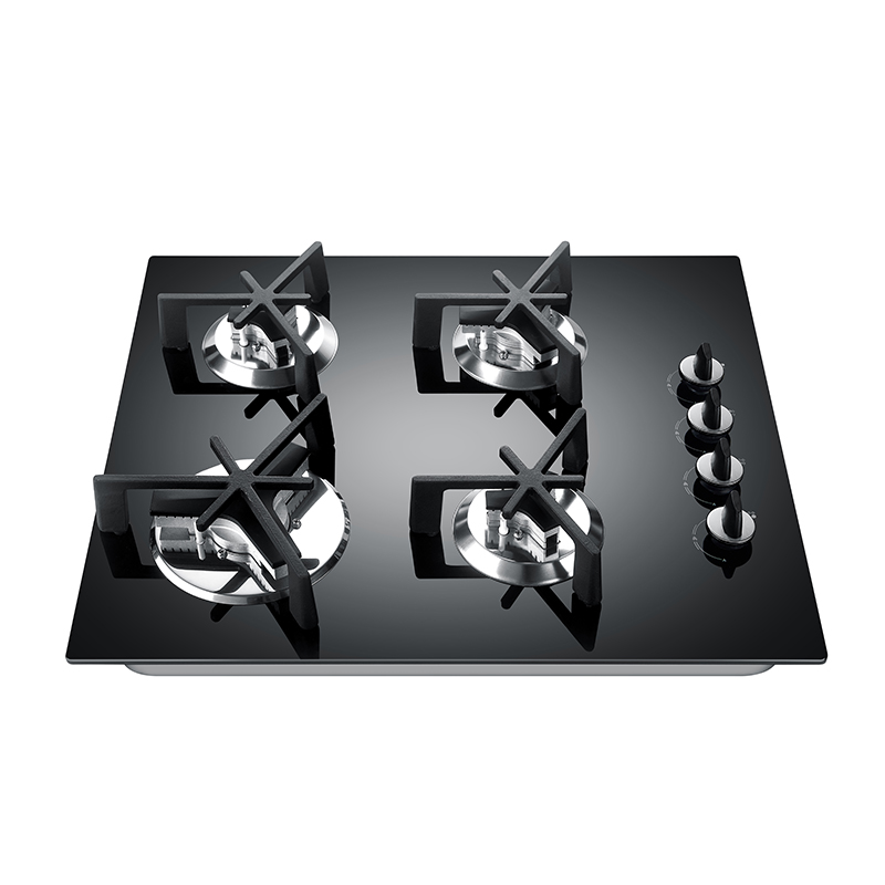 Kingbright Four Burner Hob Glass 600mm KQ4-GB01